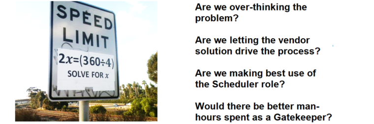 Improve Productivity with a Real World Scheduling Solution #4