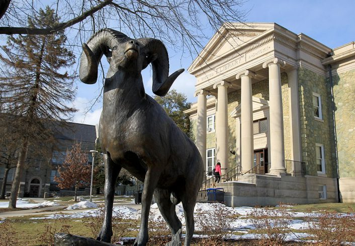 West Chester University, Rammy Statue