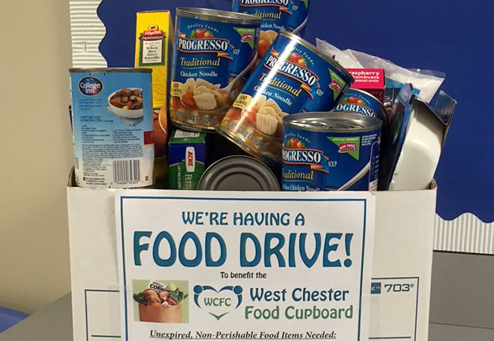 Arora Collects for Food Drive