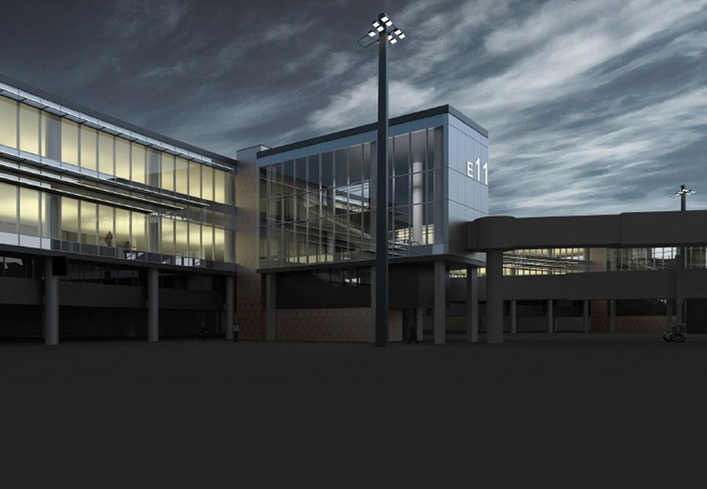 Boston Logan International Airport Terminal E Enhancements
