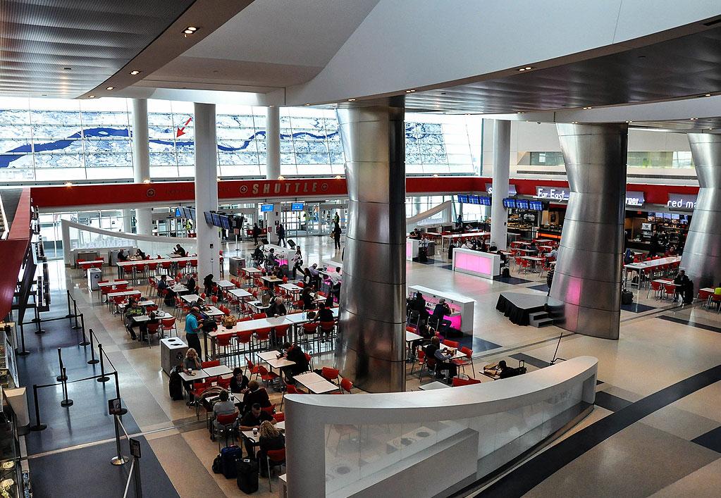 Phl Terminal F Hub Expansion And Baggage Claim Arora