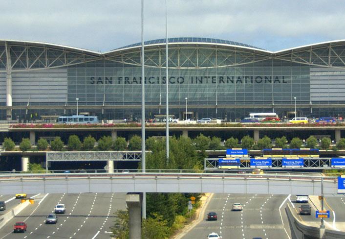 SFO Terminal Signage