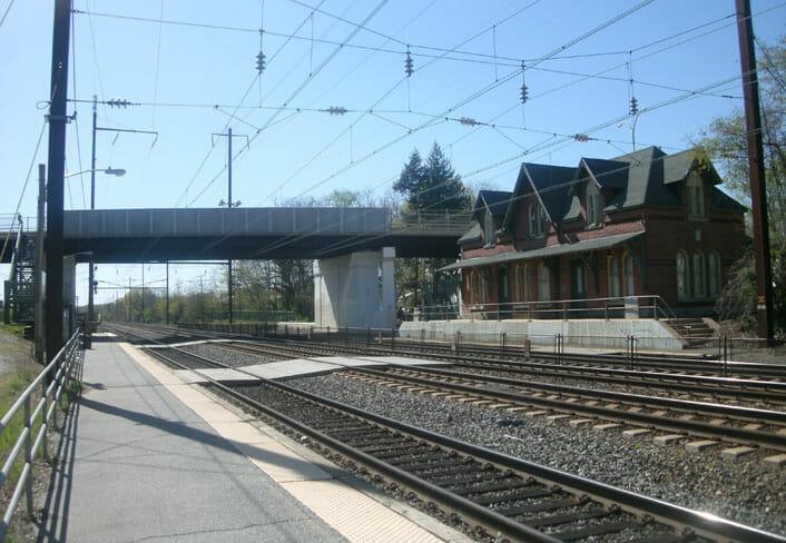 Newark SEPTA Train Station