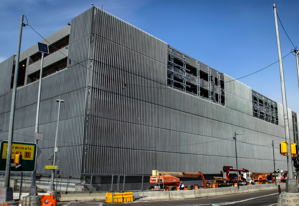 LGA Central Terminal Building West Parking Garage