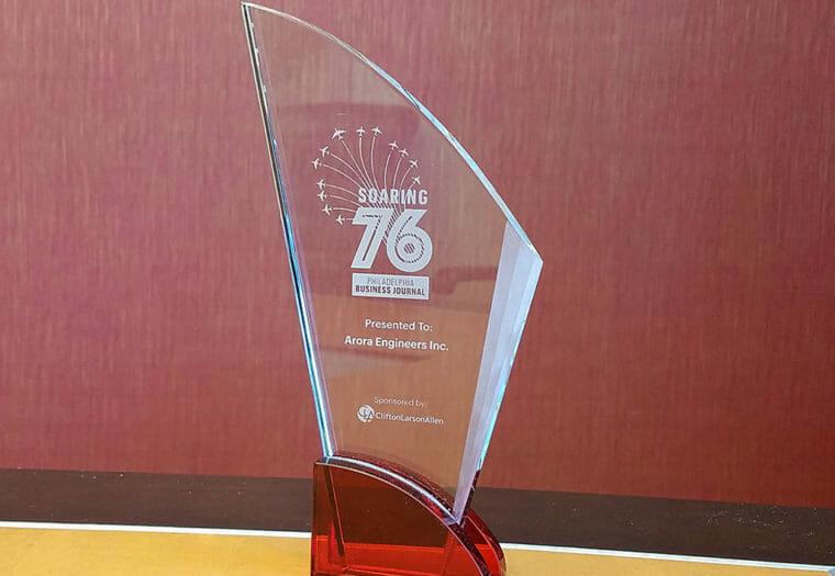 Soaring 76 Award