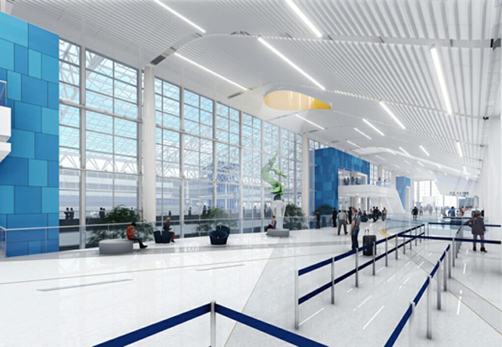 CLT Terminal Lobby Expansion