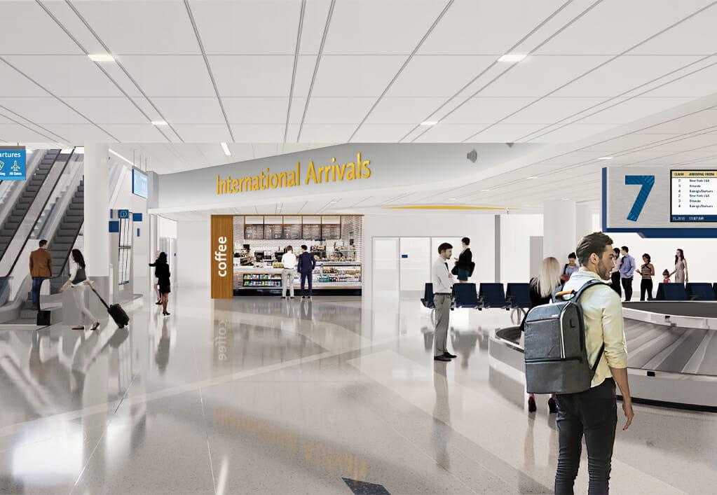 CLT Main Terminal Lobby Expansion