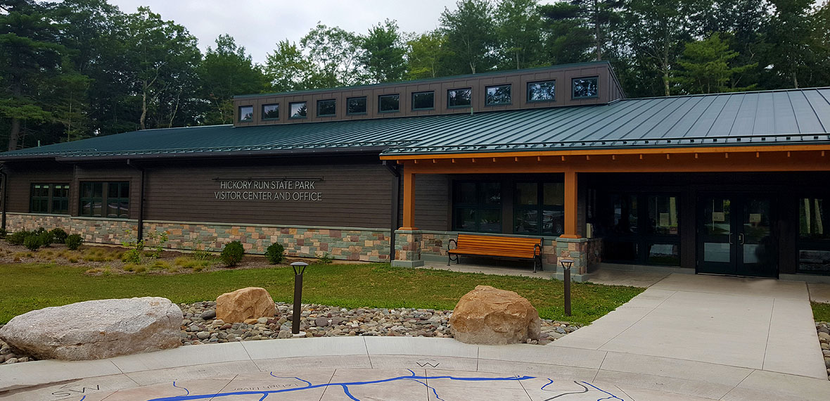 Hickory Run State Park Visitor's Center