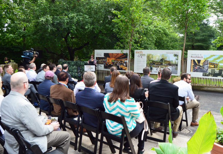 Zoo Restaurant Groundbreaking