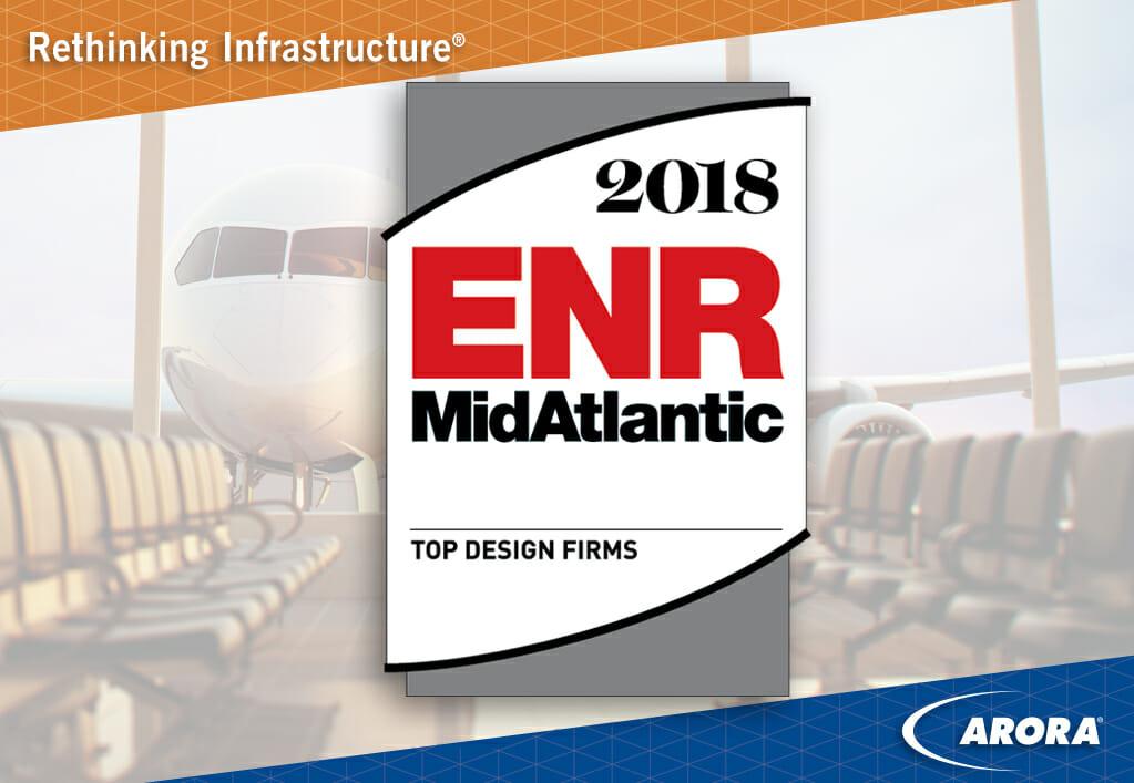 Enr Mid Atlantic Top Design Firms Arora Engineers Inc