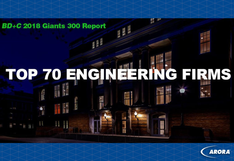 BD+C Top 70 Engineering Firms