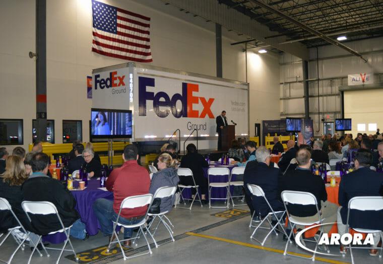 FedEx Ground Hub Opening
