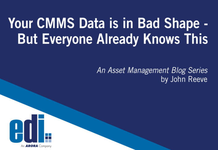 Your CMMS Data is in Bad Shape