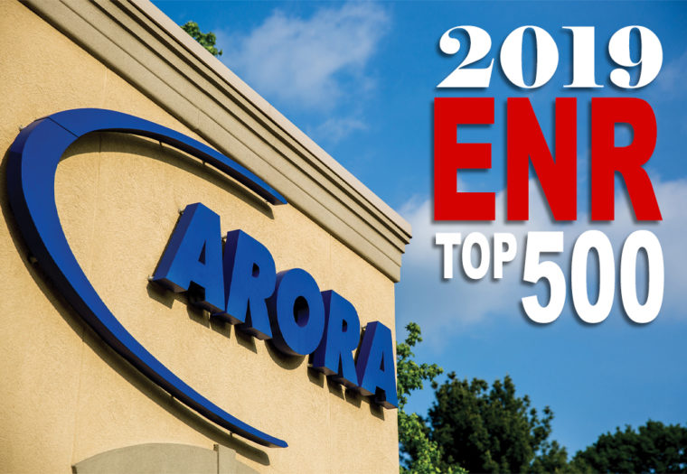 Arora Reaches ENR's Top 500 Design Firms for the First Time