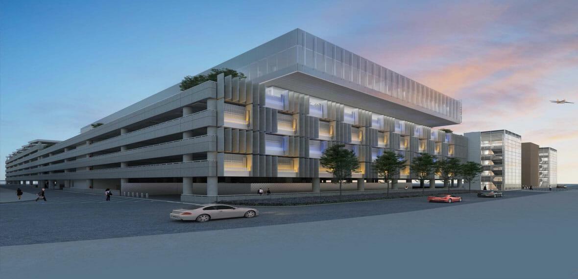 MNAA BNA Terminal Garage C & Airport Administration Building