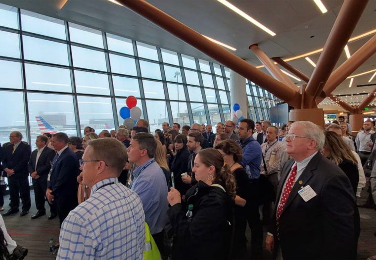 Boston Terminal B Great Hall Opening