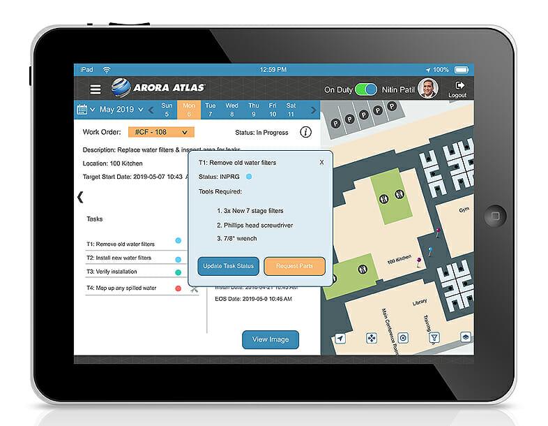 ATLAS on iPad