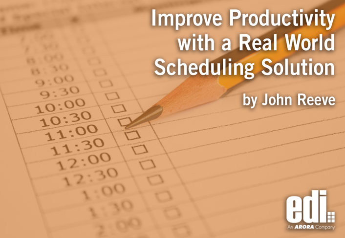 Improve Productivity with a Real World Scheduling Solution
