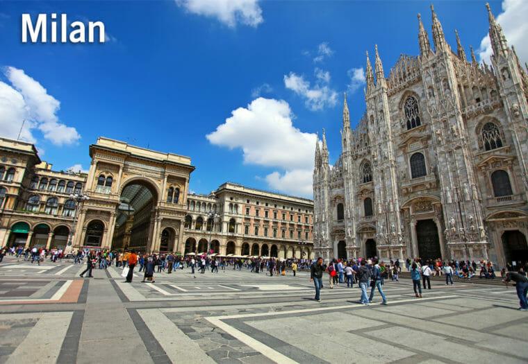 Italy Walking Challenge - Milan
