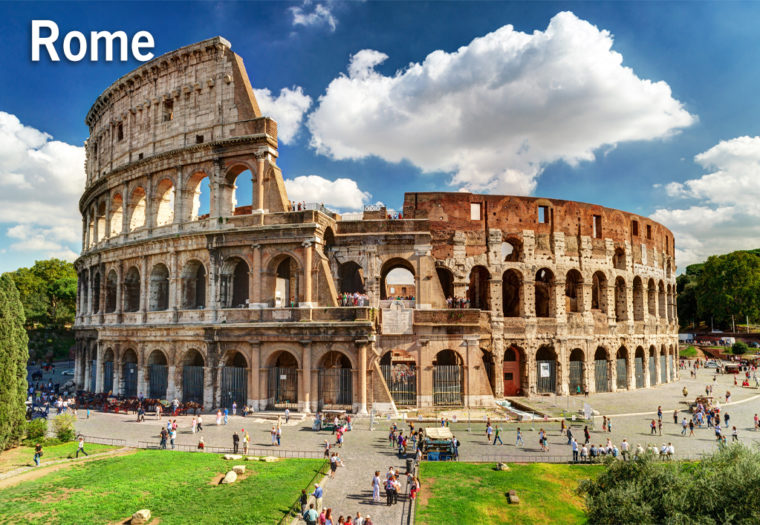 Italy Walking Challenge - Rome