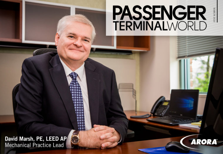 Arora Featured in Passenger Terminal World