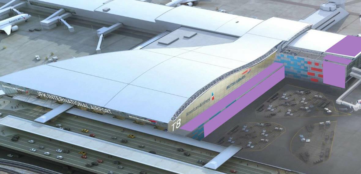 John F. Kennedy Airport (JFK) Terminal 8 Capacity Enhancement