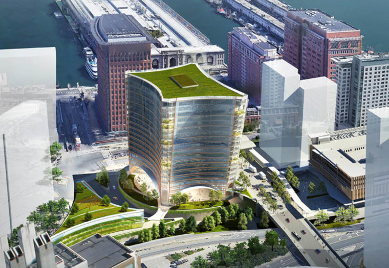 Boston Global Investors — Parcel A-2 Development