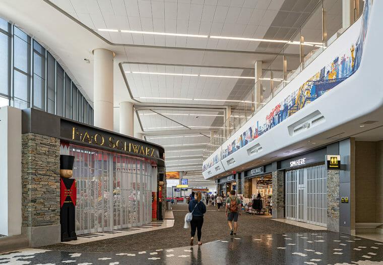 LGA Central Terminal Building - Mercantile