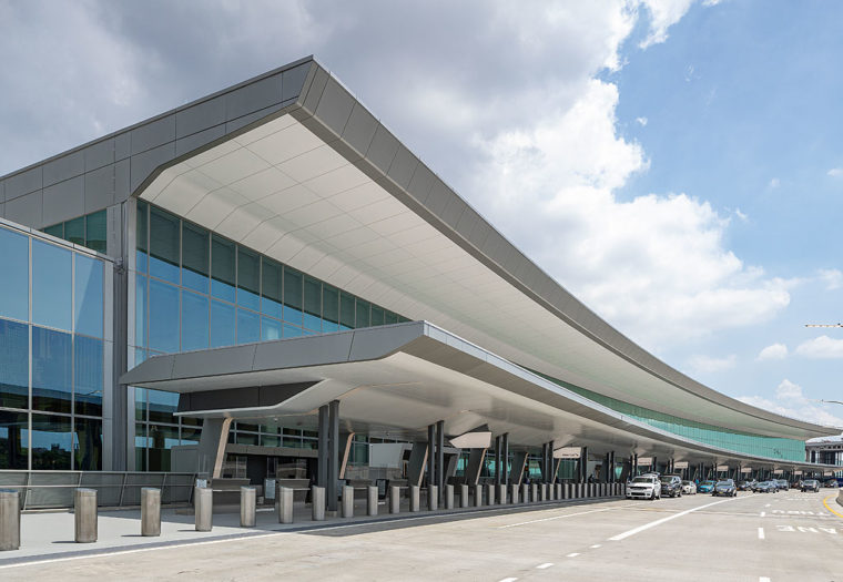 LGA Central Terminal Building - Exterior