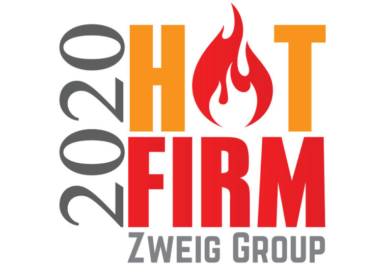 The Zweig Group Hot Firm List 2020 Logo