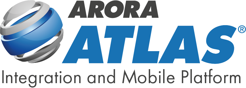 Arora ATLAS Logo with Tagline