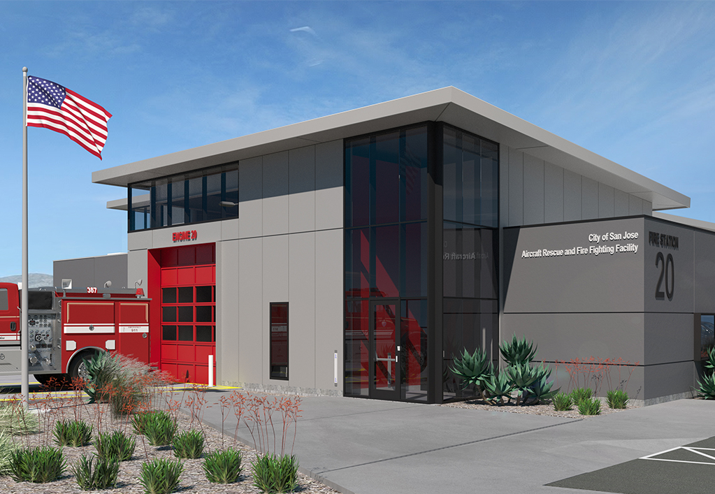 SJC Aircraft Rescue and Fire Fighting (ARFF) Facility