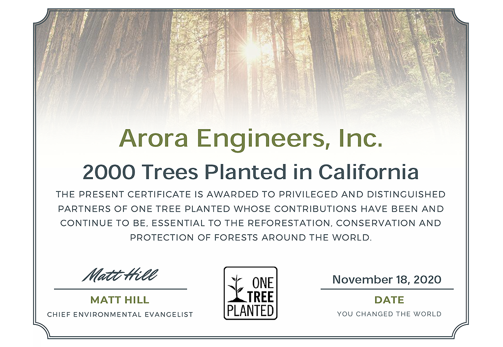 One Tree Certification