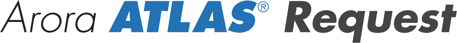 Arora ATLAS Request Word Mark