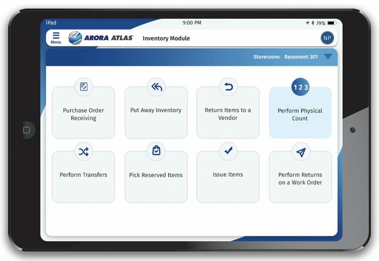 Arora ATLAS Supply iPad