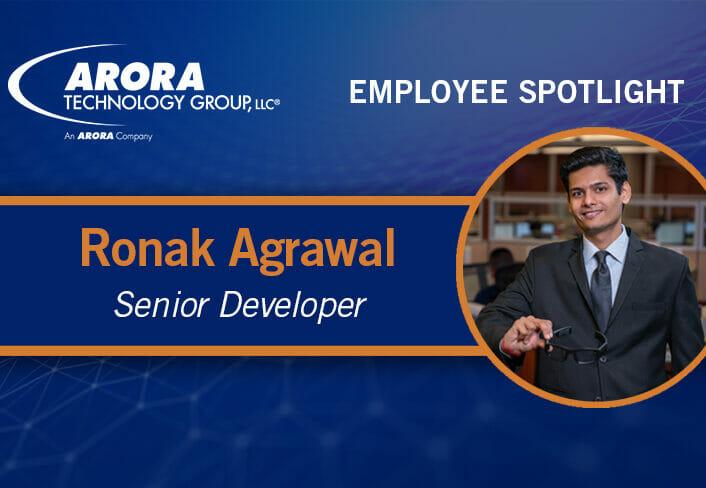 Ronak Agrawal Employee Spotlight